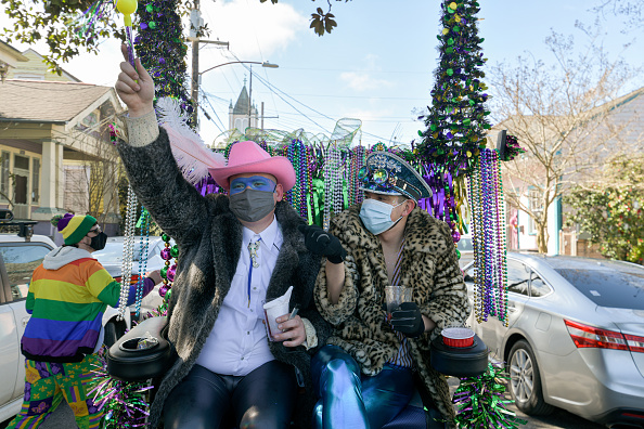 Homemade「Limited Mardi Gras Celebrations Take Place Amid Pandemic In New Orleans」:写真・画像(3)[壁紙.com]