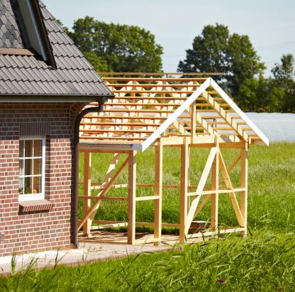Prefabricated Building「timber frame construction」:スマホ壁紙(17)
