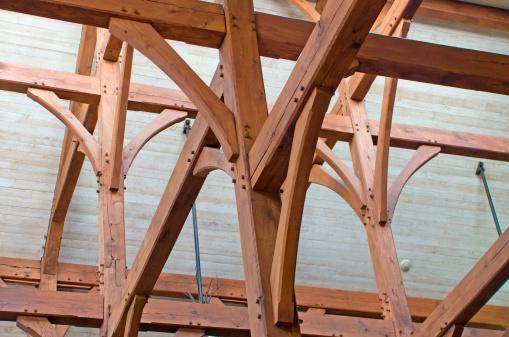 Bollard「Timber Frame Construction」:スマホ壁紙(19)