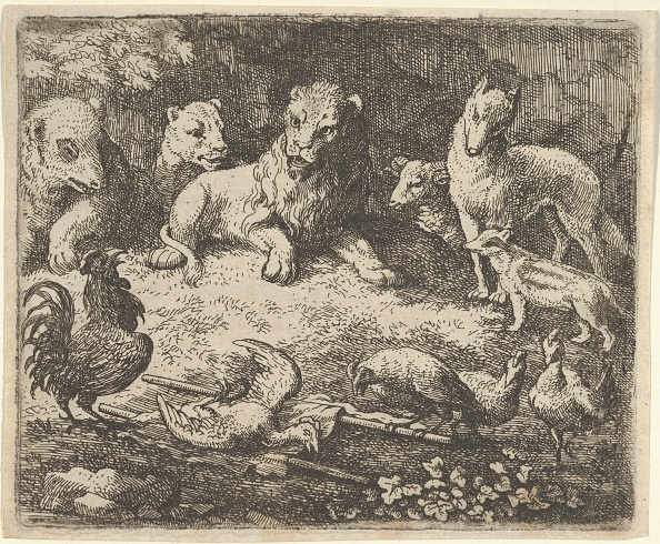 Fairy Tale「The Rooster Accuses Renard Of The Murder Of One Of His Chickens」:写真・画像(18)[壁紙.com]