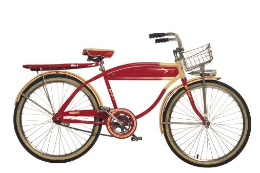 Bicycle「Vintage red bicycle」:スマホ壁紙(17)