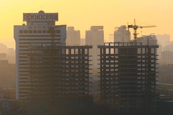 Skyscraper「Beijing construction site at dusk. China.」:写真・画像(16)[壁紙.com]