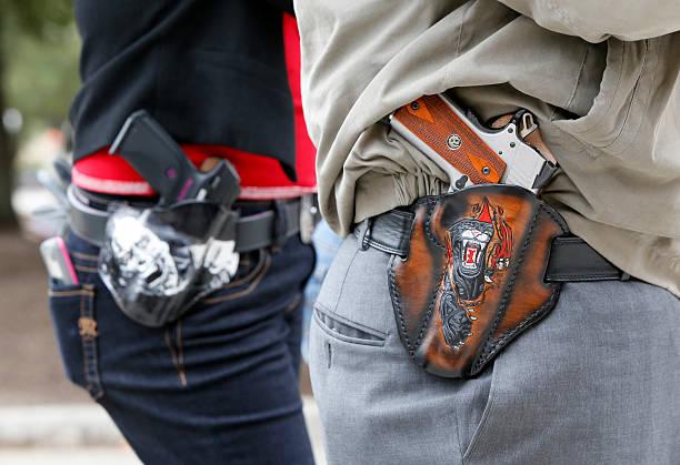 Open carry gun rally in Austin, Texas.:ニュース(壁紙.com)