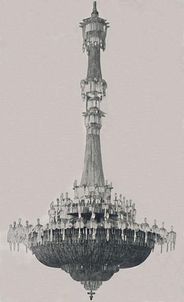 Chandelier「The Dome Chandelier」:写真・画像(14)[壁紙.com]
