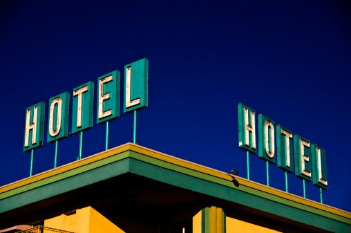 Motel「Hotel Corner Sign」:スマホ壁紙(12)