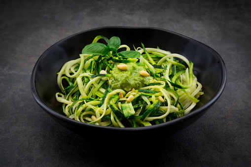 Pine Nut「Bowl of Zoodels with avocado basil pesto」:スマホ壁紙(14)