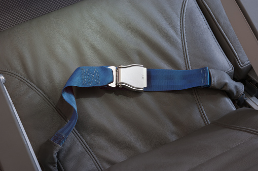 Part Of「Airplane leather seat with seatbelt buckled」:スマホ壁紙(11)