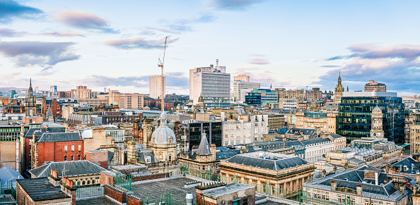 Glasgow - Scotland「Glasgow city centre skyline」:スマホ壁紙(9)