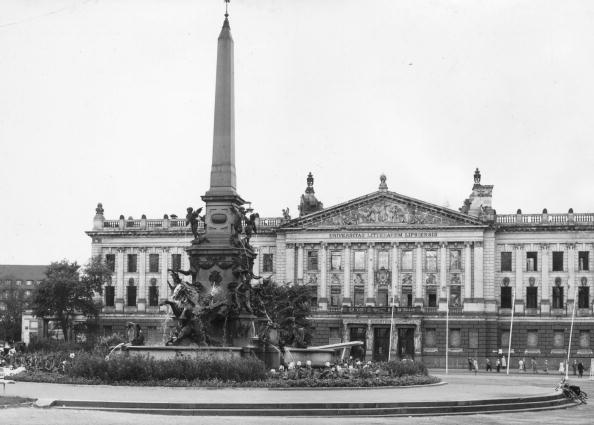 Leipzig - Saxony「Karl Marx University」:写真・画像(9)[壁紙.com]