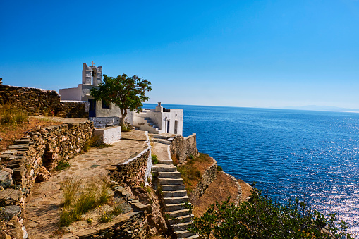 Monastery「Greece, Cyclades, Sifnos」:スマホ壁紙(16)