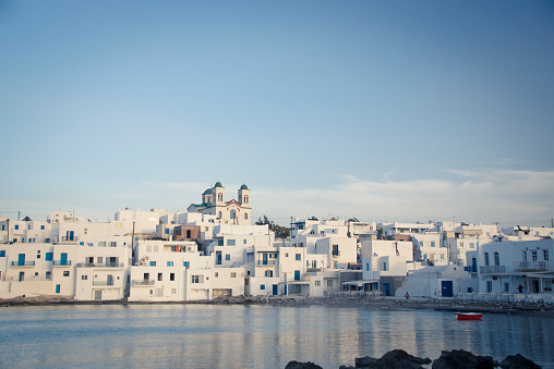 Greece「Greece, Cyclades, townscape of Paros」:スマホ壁紙(1)