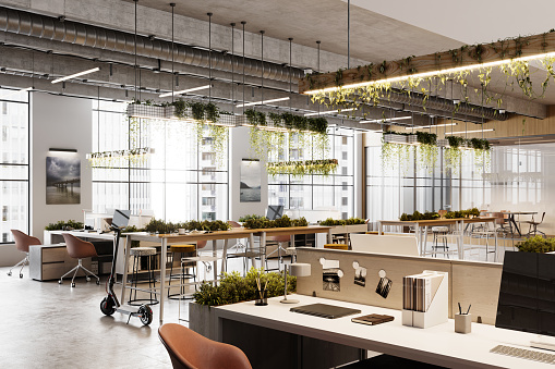 Ecosystem「Eco friendly coworking office space in 3D」:スマホ壁紙(7)