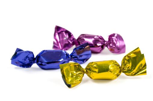 Heap「candy in colorful foil」:スマホ壁紙(11)