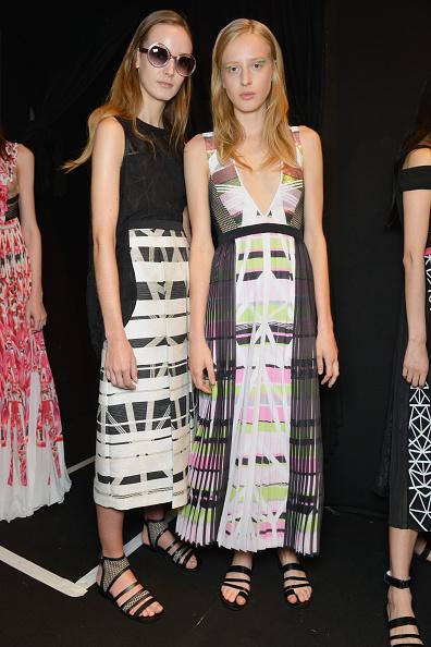 Mid Calf Length「Byblos Milano - Backstage - Milan Fashion Week SS16」:写真・画像(6)[壁紙.com]