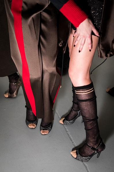 Tristan Fewings「Les Copains - Backstage - Milan Fashion Week Fall/Winter 2017/18」:写真・画像(1)[壁紙.com]