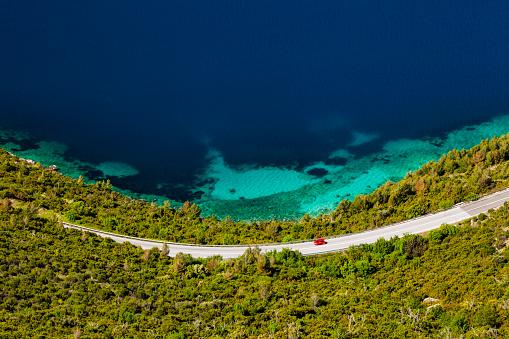 Coastline「Dalmatia coastal road」:スマホ壁紙(9)