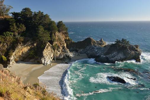 Julia Pfeiffer Burns State Park「Scenic shore at Julia Pfeiffer Burn State Park」:スマホ壁紙(12)