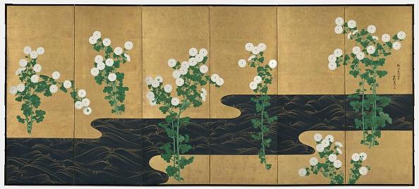 Chrysanthemum「Chrysanthemums By A Stream」:写真・画像(17)[壁紙.com]