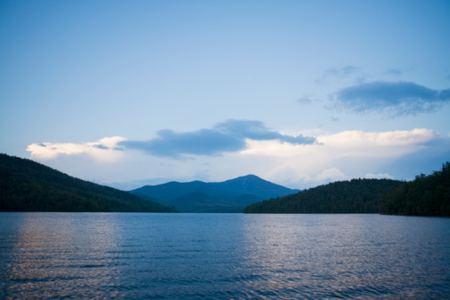 Lake Placid「Lake Placid with Whiteface Mountain in background」:スマホ壁紙(5)
