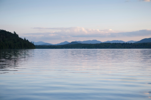 Adirondack Forest Preserve「Lake Placid At Dusk」:スマホ壁紙(14)