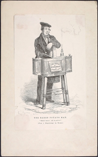 Baked Potato「From 'London Labour and London Poor' by Henry Mayhew」:写真・画像(14)[壁紙.com]