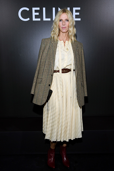 Skirt「Celine : Front Row -  Paris Fashion Week - Womenswear Spring Summer 2020」:写真・画像(0)[壁紙.com]