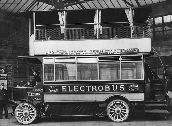 Edwardian Style「1909 Electrobus. Creator: Unknown.」:写真・画像(8)[壁紙.com]