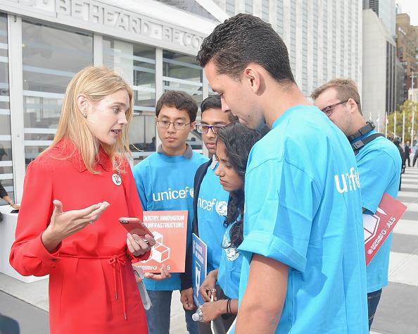 Philanthropist「Natalia Vodianova UNICEF Youth Meet And Greet」:写真・画像(10)[壁紙.com]