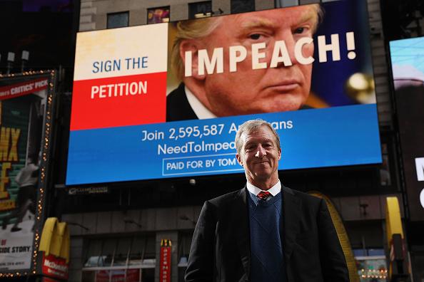 ミッドタウンマンハッタン「Trump Impeachment Movement Leader Tom Steyer Makes Announcement In NYC」:写真・画像(9)[壁紙.com]