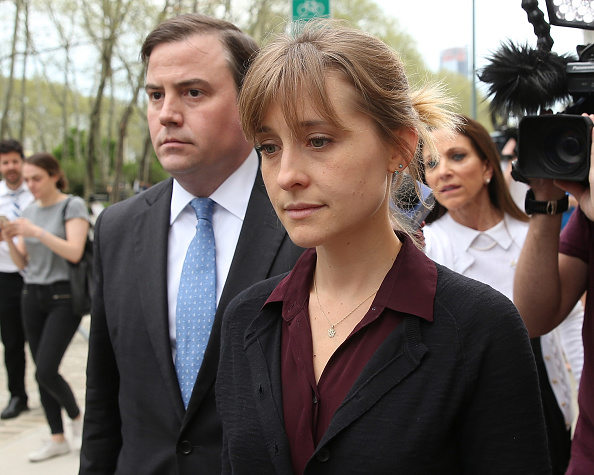 Keith Raniere「Actress Allison Mack Arrives At Court Over Sex Trafficking Charges」:写真・画像(9)[壁紙.com]