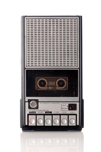 Push Button「Vintage handheld tape recorder 」:スマホ壁紙(12)