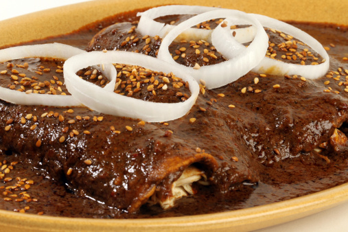 Tortilla - Flatbread「Mole with chiken」:スマホ壁紙(12)