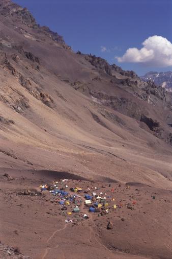 Mount Aconcagua「Plaza Mulas camp, Aconcagua mount」:スマホ壁紙(17)