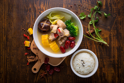 Ginger - Spice「Chinese food, chicken soup」:スマホ壁紙(8)