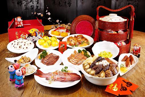 Lunar New Year;「Chinese food」:スマホ壁紙(10)