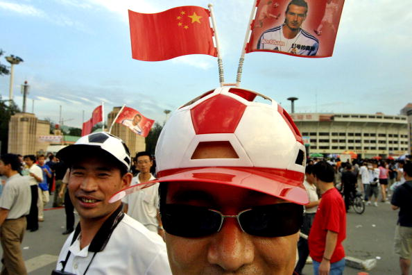 Headwear「Chinese Fans React To David Beckham's Debut With Real Madrid」:写真・画像(19)[壁紙.com]