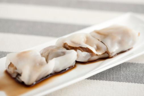 Dim Sum「Chinese food plain rice rolls」:スマホ壁紙(10)