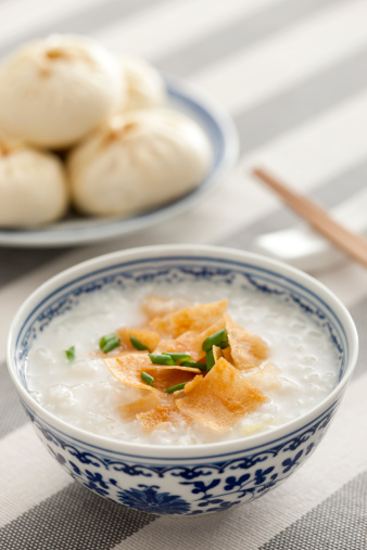 Chinese Steamed Bun「Chinese food rice porridge and steamed buns」:スマホ壁紙(8)