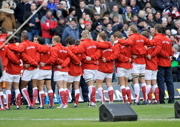 In A Row「England v South Africa Rugby Autumn International at Twickenham Stadium, London 2008」:写真・画像(14)[壁紙.com]