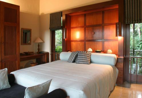Duvet「Teak Bedroom In Luxury Resort」:スマホ壁紙(9)