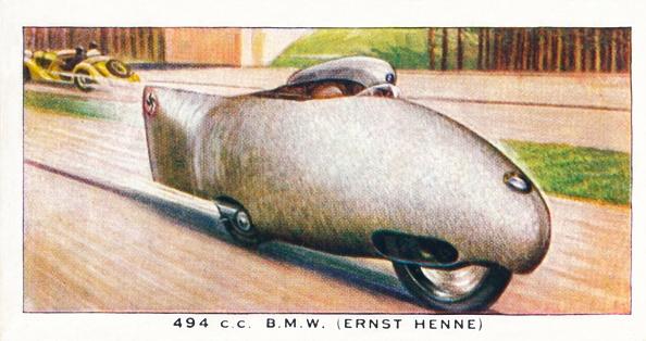 Cigarette Card「494 CC BMW Ernst Henne」:写真・画像(9)[壁紙.com]