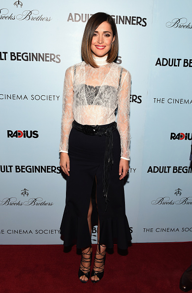 "Rose Byrne「RADiUS With The Cinema Society & Brooks Brothers Host The New York Premiere Of ""Adult Beginners""」:写真・画像(5)[壁紙.com]"