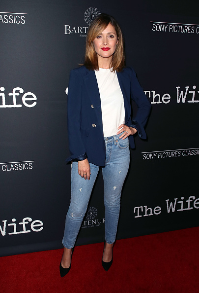 """Rose Byrne「Sony Pictures Classics' Los Angeles Premiere Of """"The Wife"""" - Arrivals」:写真・画像(6)[壁紙.com]"""