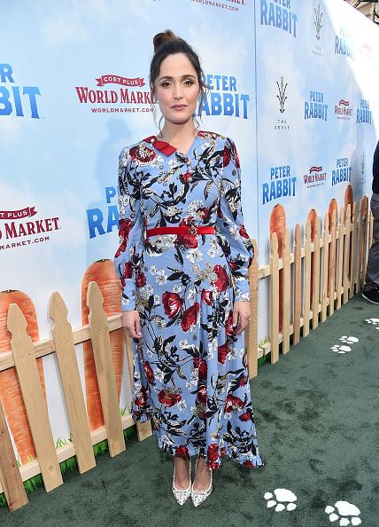 "Rose Byrne「Premiere Of Columbia Pictures' ""Peter Rabbit"" - Red Carpet」:写真・画像(7)[壁紙.com]"