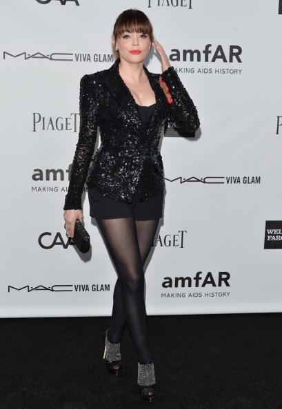黒「amfAR Inspiration Gala Los Angeles - Arrivals」:写真・画像(19)[壁紙.com]