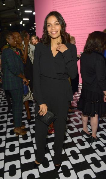 Black Jumpsuit「Diane Von Furstenberg's Journey Of A Dress Exhibition Opening Celebration - Inside」:写真・画像(2)[壁紙.com]