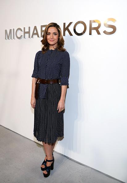 Rose Byrne「Michael Kors - Backstage - Mercedes-Benz Fashion Week Fall 2014」:写真・画像(18)[壁紙.com]