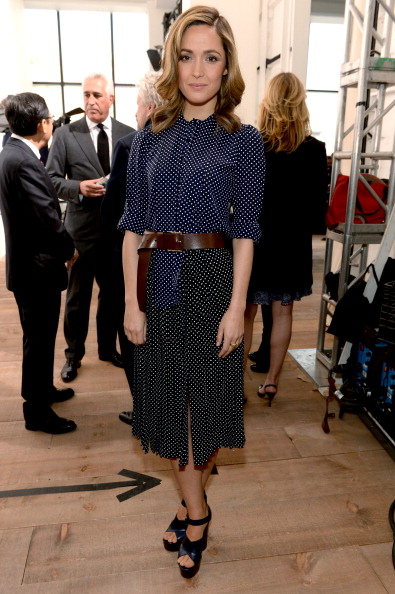 Belt「Michael Kors - Backstage - Mercedes-Benz Fashion Week Fall 2014」:写真・画像(9)[壁紙.com]