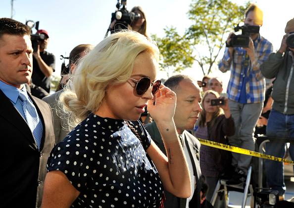 Human Arm「Lindsay Lohan Probation Hearing」:写真・画像(11)[壁紙.com]