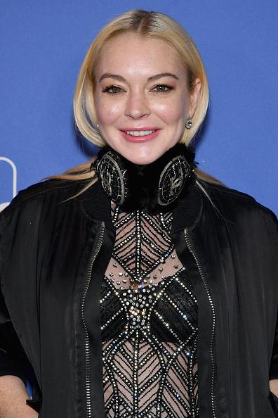 Lindsay Lohan「DailyMail.com & DailyMailTV Holiday Party With Flo Rida - Carpet」:写真・画像(7)[壁紙.com]
